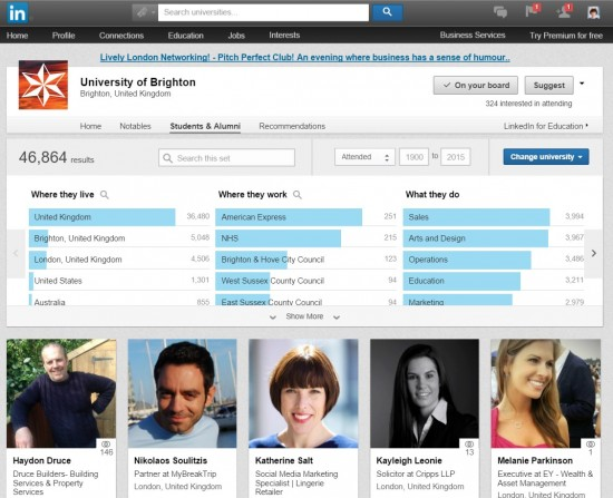 Linkedin Tools 3. Connect With University Alumni On LinkedIn