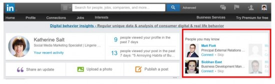 Linkedin Tools 4. People You May Know On LinkedIn