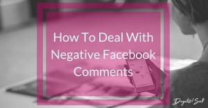 How To Deal With Negativity On Facebook