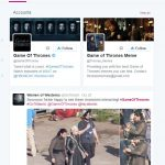 Hashtag Twitter Search Game-Of-Thrones