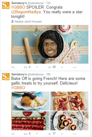 Sainsbury Twitter Account